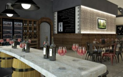 """Varna Winery""  builds a hall for wine tasting"